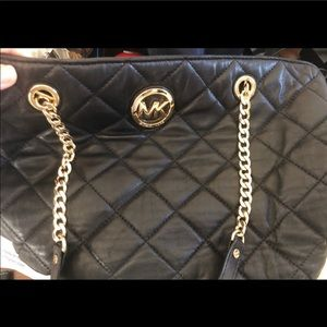 Michael Kors Bags - Authentic Leather Quilted Michael Kors Purse